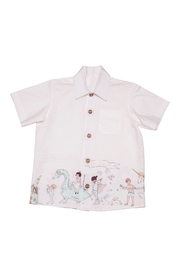 Mandy by Gema Magical Parade White Shirt - Front cropped