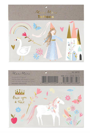 Meri Meri Magical Princess Tattoos - Product Mini Image