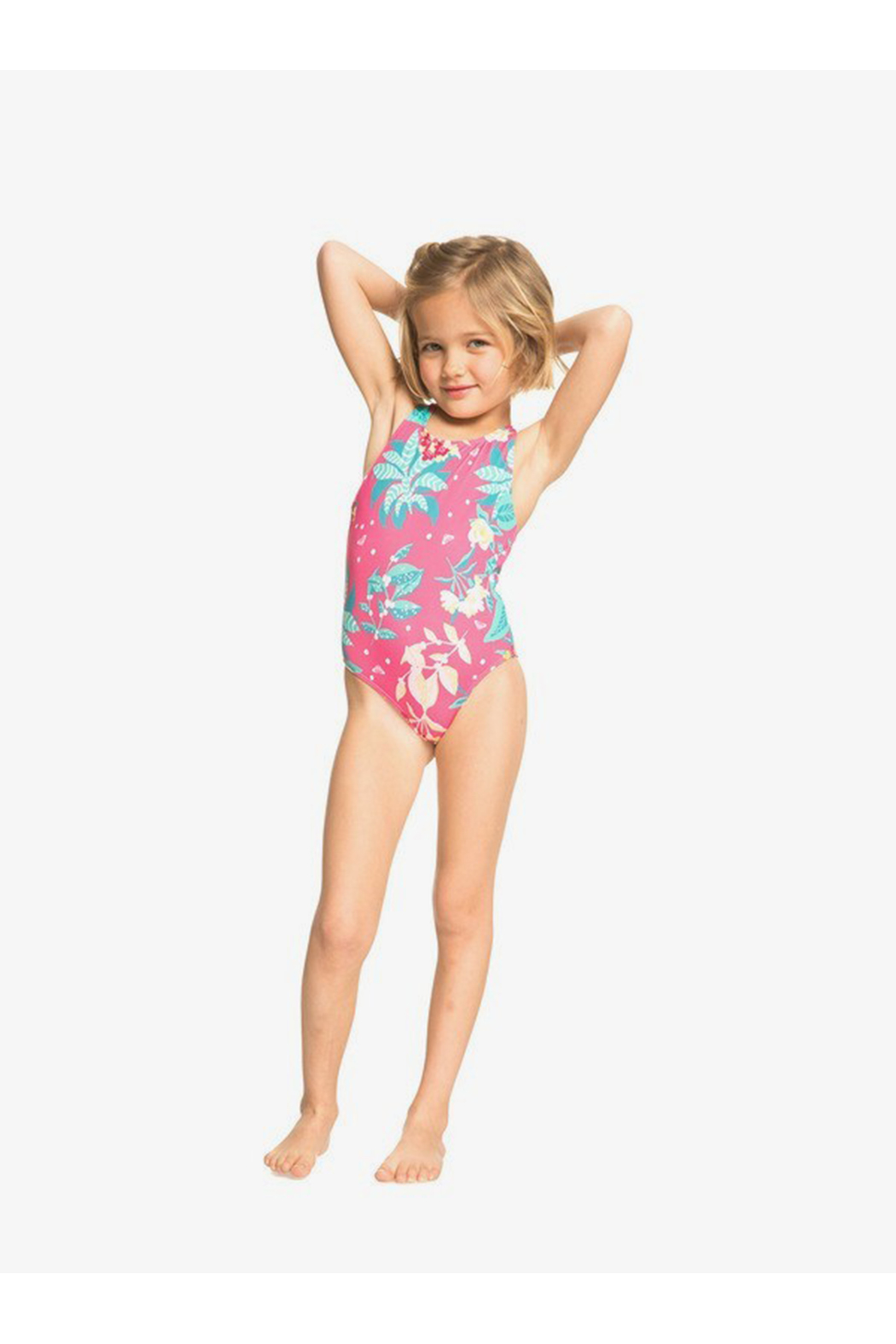 Roxy Magical Sea One-Piece Swimsuit - Side Cropped Image