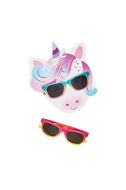 Cupcakes and Cartwheels Magical Sunglasses - Front full body