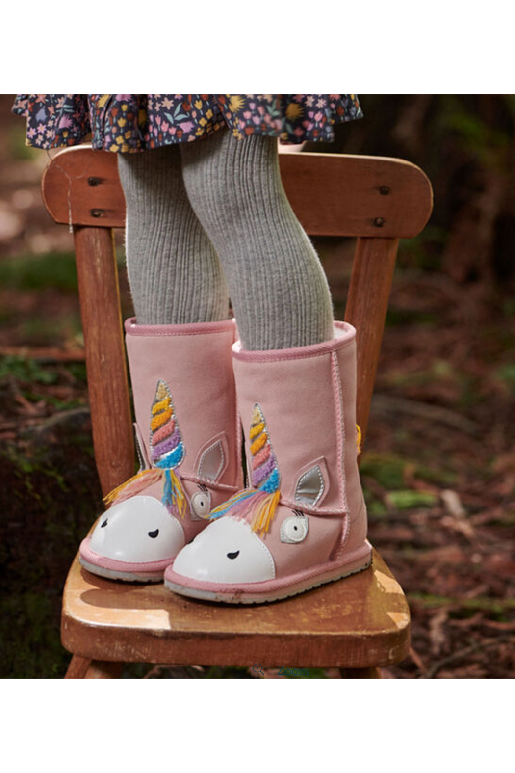 Emu Australia Magical Unicorn Boot - Side Cropped Image