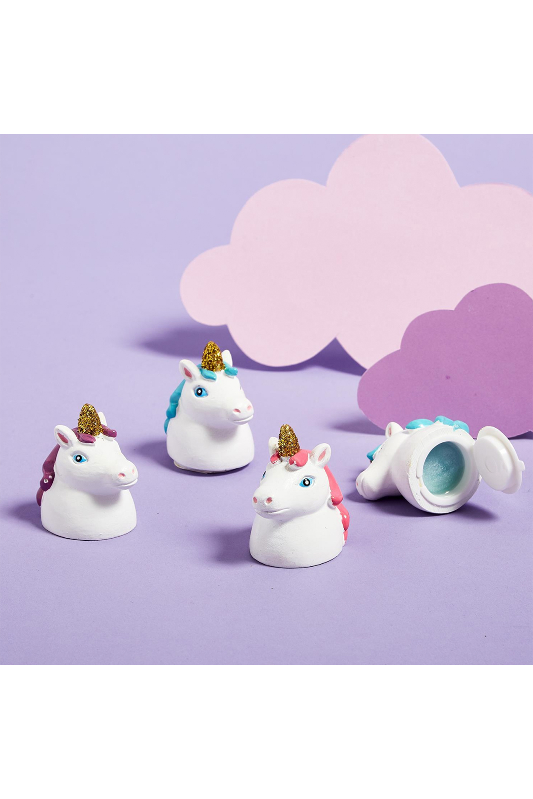 Cupcakes & Cartwheels Magical Unicorn Lip Gloss - Front Cropped Image