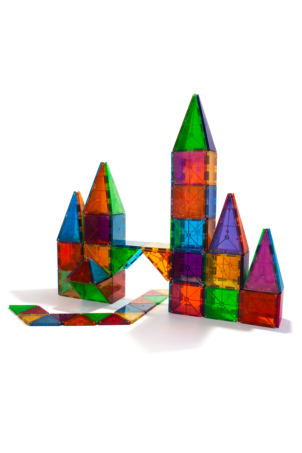 Valtech - MagnaTiles Magna-Tiles 100 Pc Set - Front Full Image
