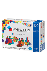 Valtech - MagnaTiles Magna-Tiles Clear Colors 100 Pc Set - Product Mini Image