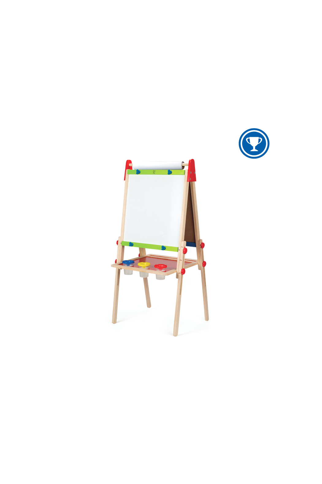 Hape Magnetic All-in-1 Easel - Front Cropped Image