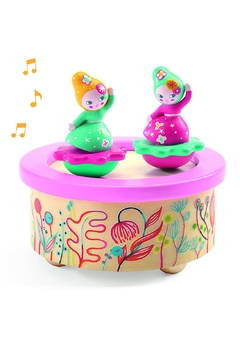 Shoptiques Product: Magnetic 'Flower-Melody' Music-Box