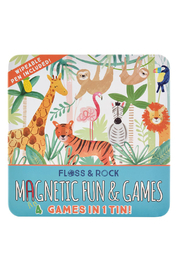 Floss And Rock Magnetic Fun & Games - Jungle - Product Mini Image