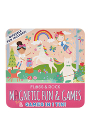 Floss And Rock Magnetic Fun & Games - Rainbow Fairy - Product Mini Image