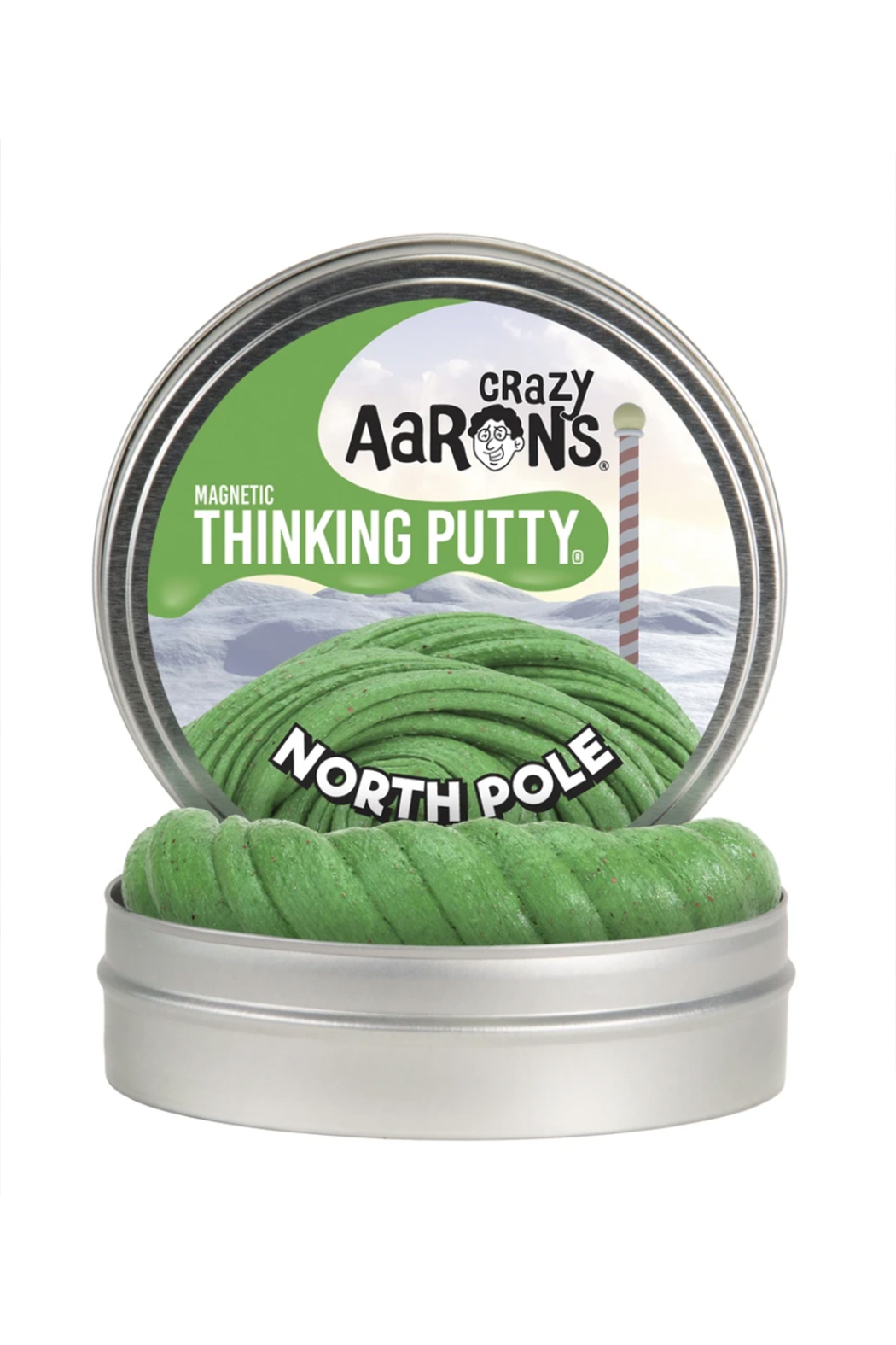 Crazy Aaron's  Magnetic Putty: North Pole - Main Image