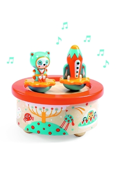 Shoptiques Product: Magnetic 'Space-Melody' Music-Box