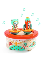 Djeco Magnetic 'Space-Melody' Music-Box - Front cropped