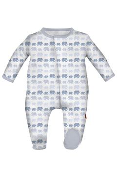 Magnificent Baby Blue Elephant Sleepwear - Alternate List Image
