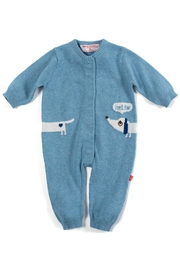 Magnificent Baby Dog Magnetic Coverall - Product Mini Image