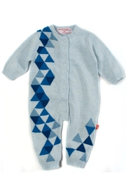 Magnificent Baby Geometric Magnetic Coverall - Product Mini Image