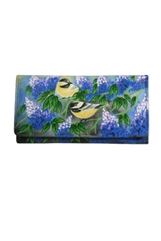 Magnifique Bags Hand-Painted Goldfinch Wallet - Product Mini Image