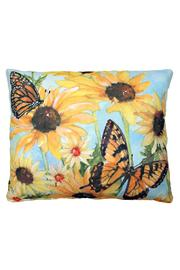 Magnolia Casual Butterfly Blossoms Pillow - Product Mini Image