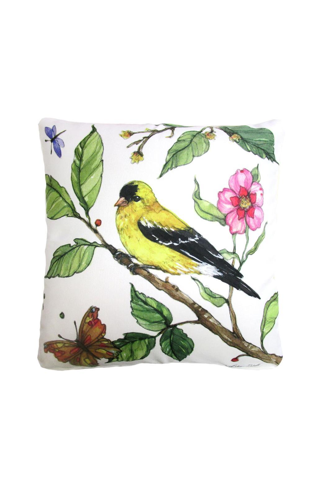 Magnolia Casual Goldfinch Pillow - Main Image