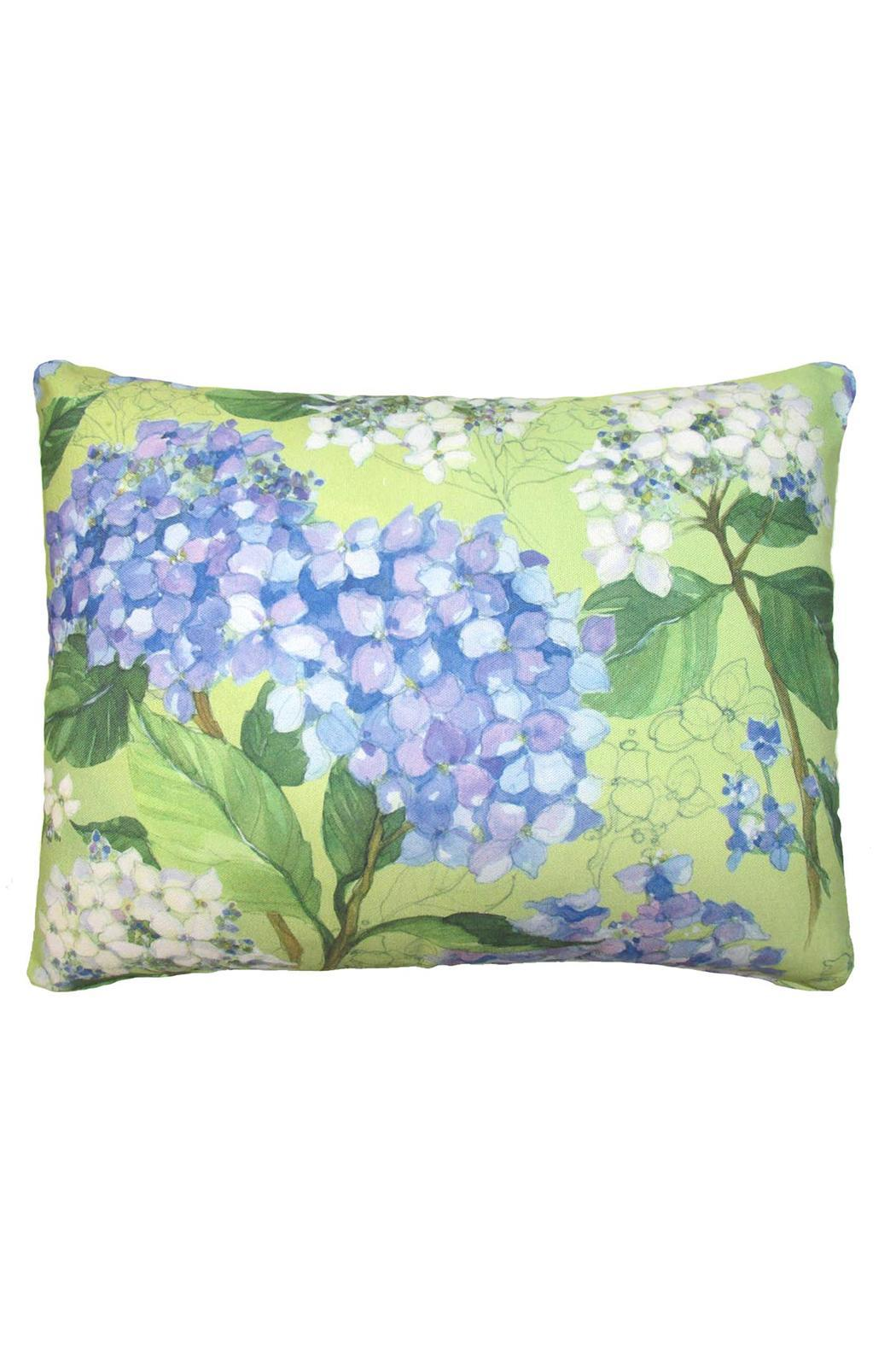 Magnolia Casual Hydrangea Pillow - Main Image