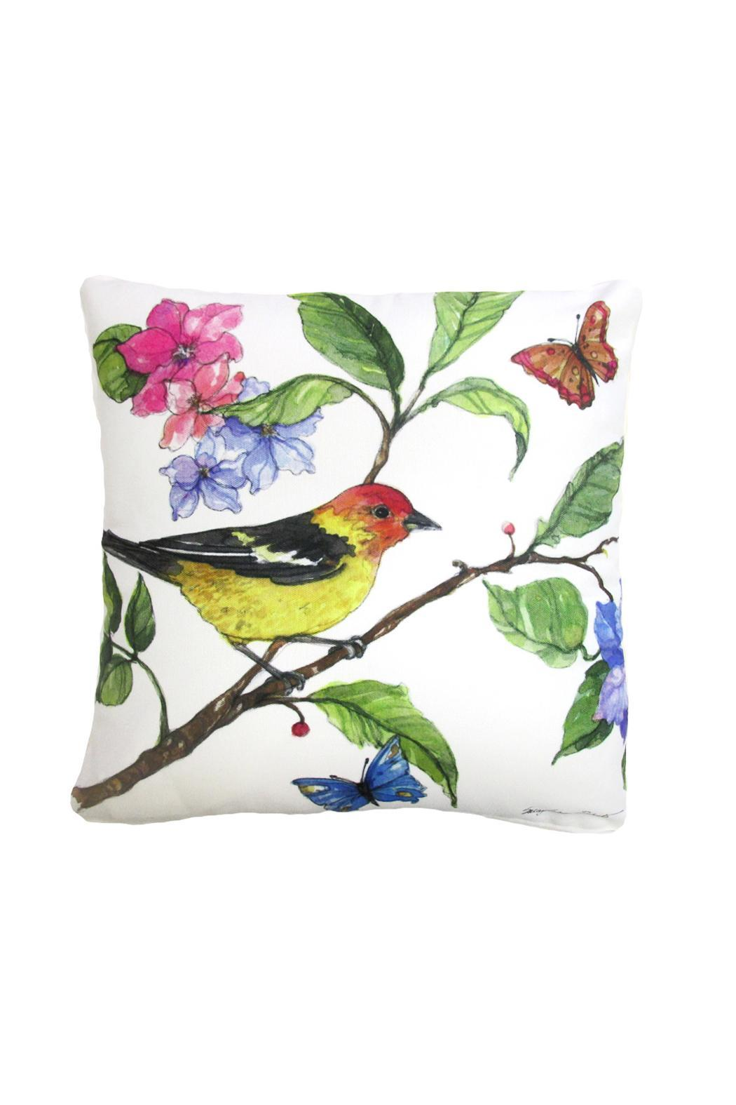 Magnolia Casual Tanager Pillow - Main Image