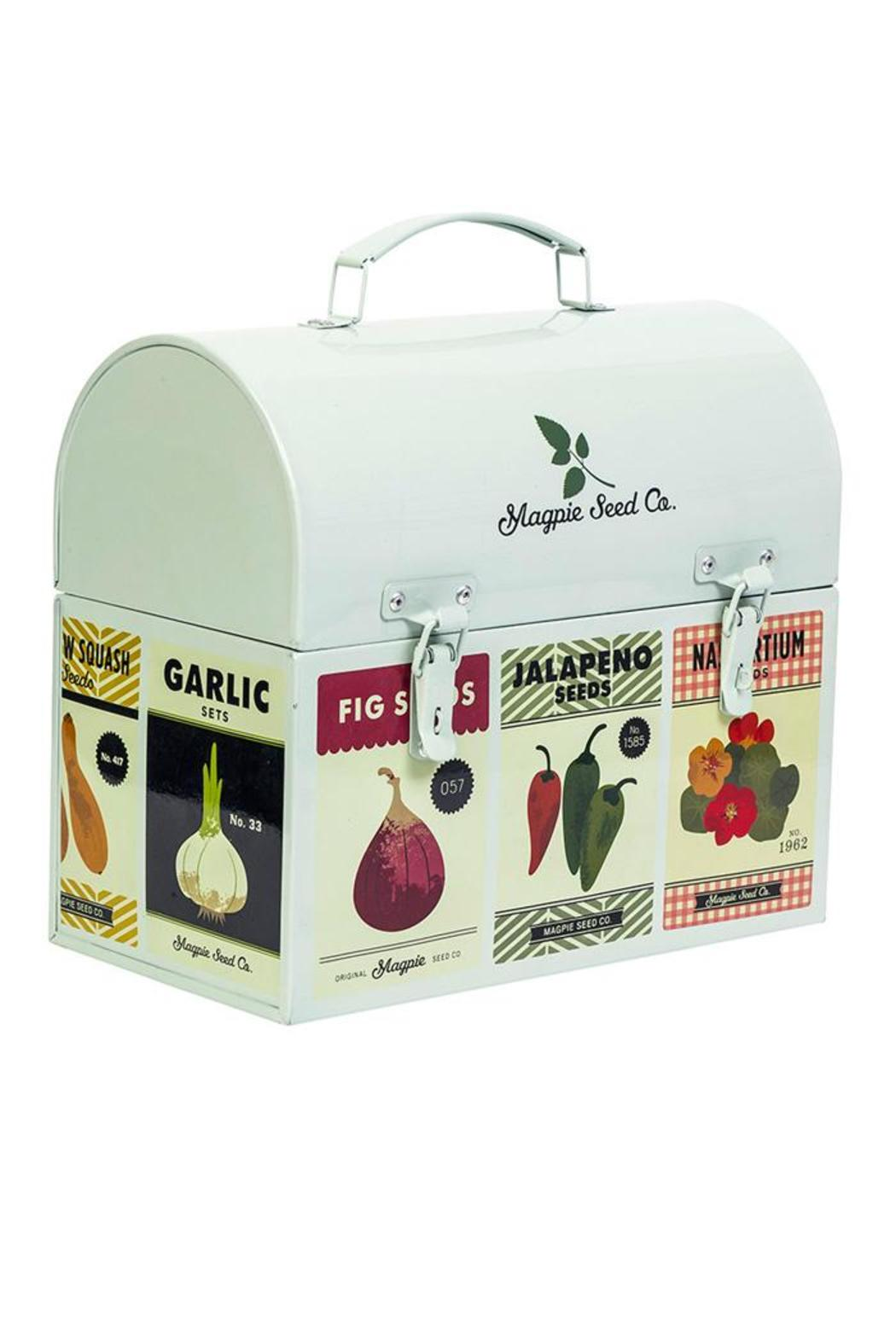 Beau Magpie U0026 Jay Garden Tool Box   Front Cropped Image