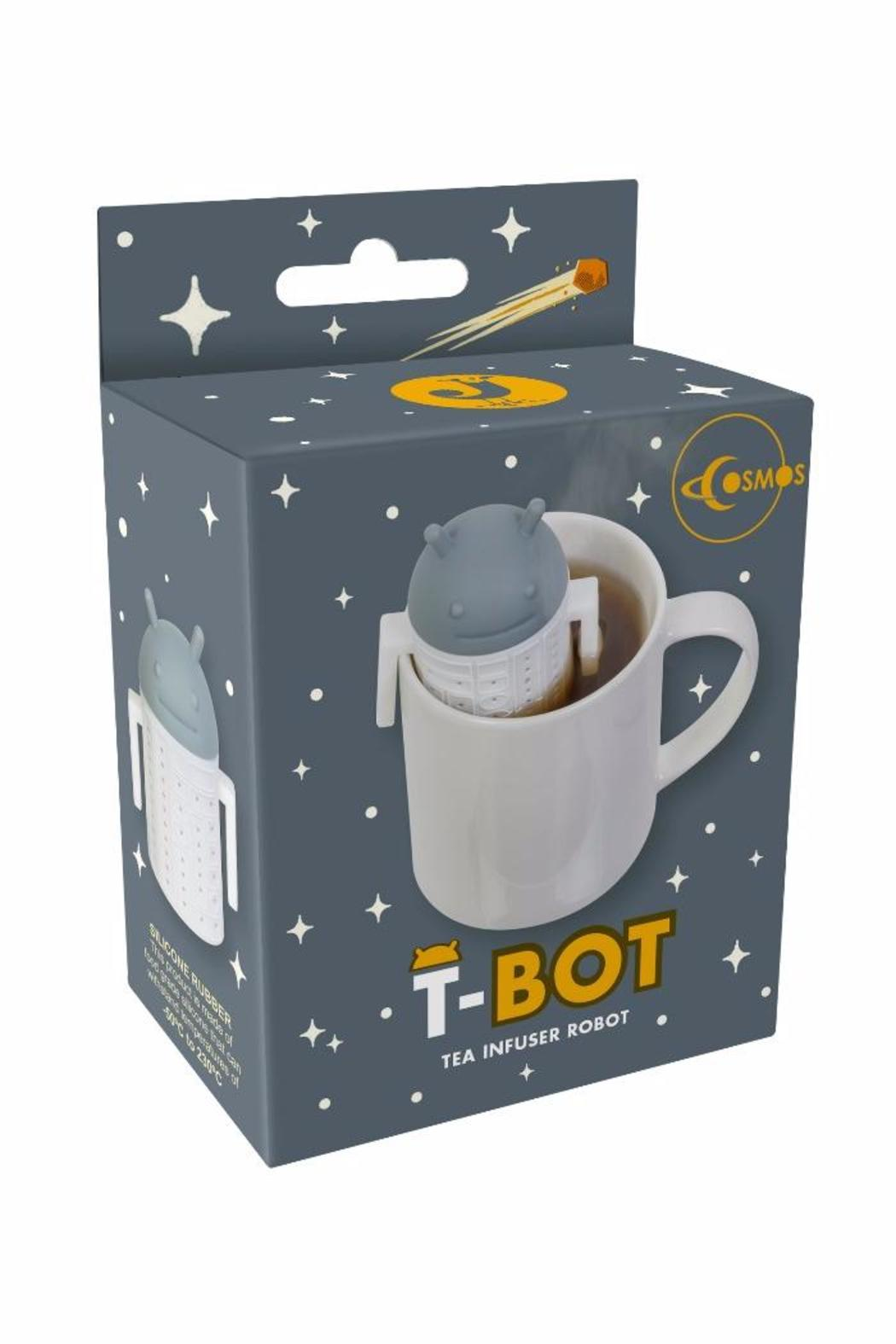 Magpie & Jay Robot Tea Infuser - Front Full Image