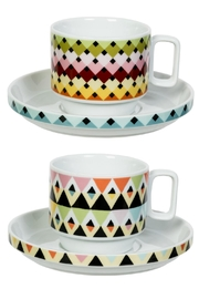 Magpie & Jay Viva Coffee Set - Front full body