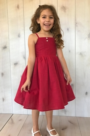 Magpie and Mabel Red Simple Dress - Product Mini Image
