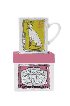 Magpie line Cats Persiamese Mug - Alternate List Image