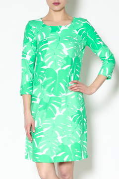 Mahi Gold Green Bimini Dress - Product List Image