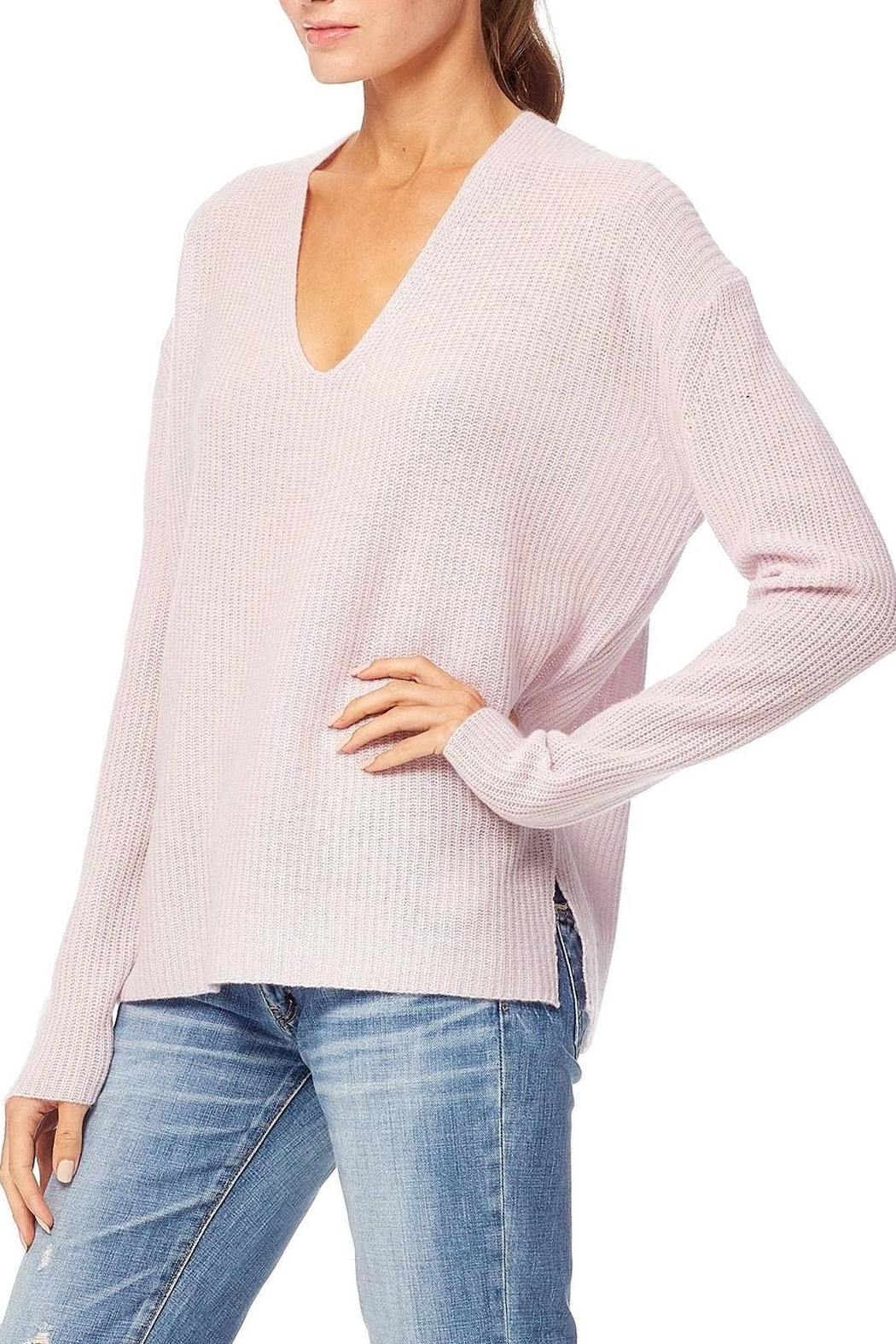 360 Cashmere Mai Sweater - Side Cropped Image