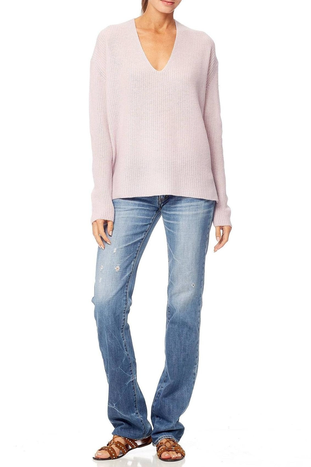 360 Cashmere Mai Sweater - Front Cropped Image