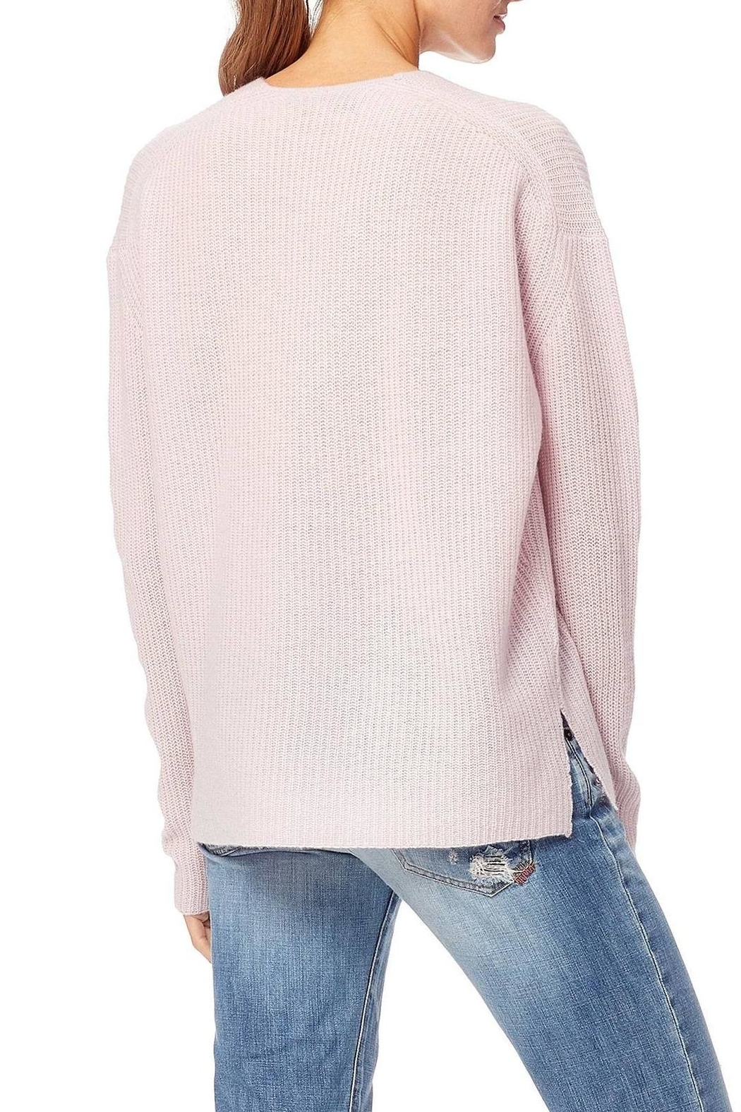 360 Cashmere Mai Sweater - Back Cropped Image