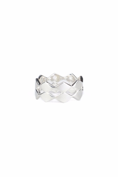 Mai COPENHAGEN Rhombic Double Ring - Alternate List Image