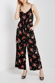 Mai Tai Black Floral Jumpsuit - Product Mini Image