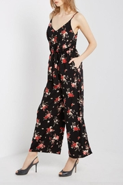 Mai Tai Black Floral Jumpsuit - Side cropped