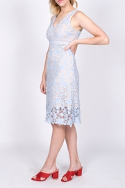 Mai Tai Blue Lace Dress - Side cropped