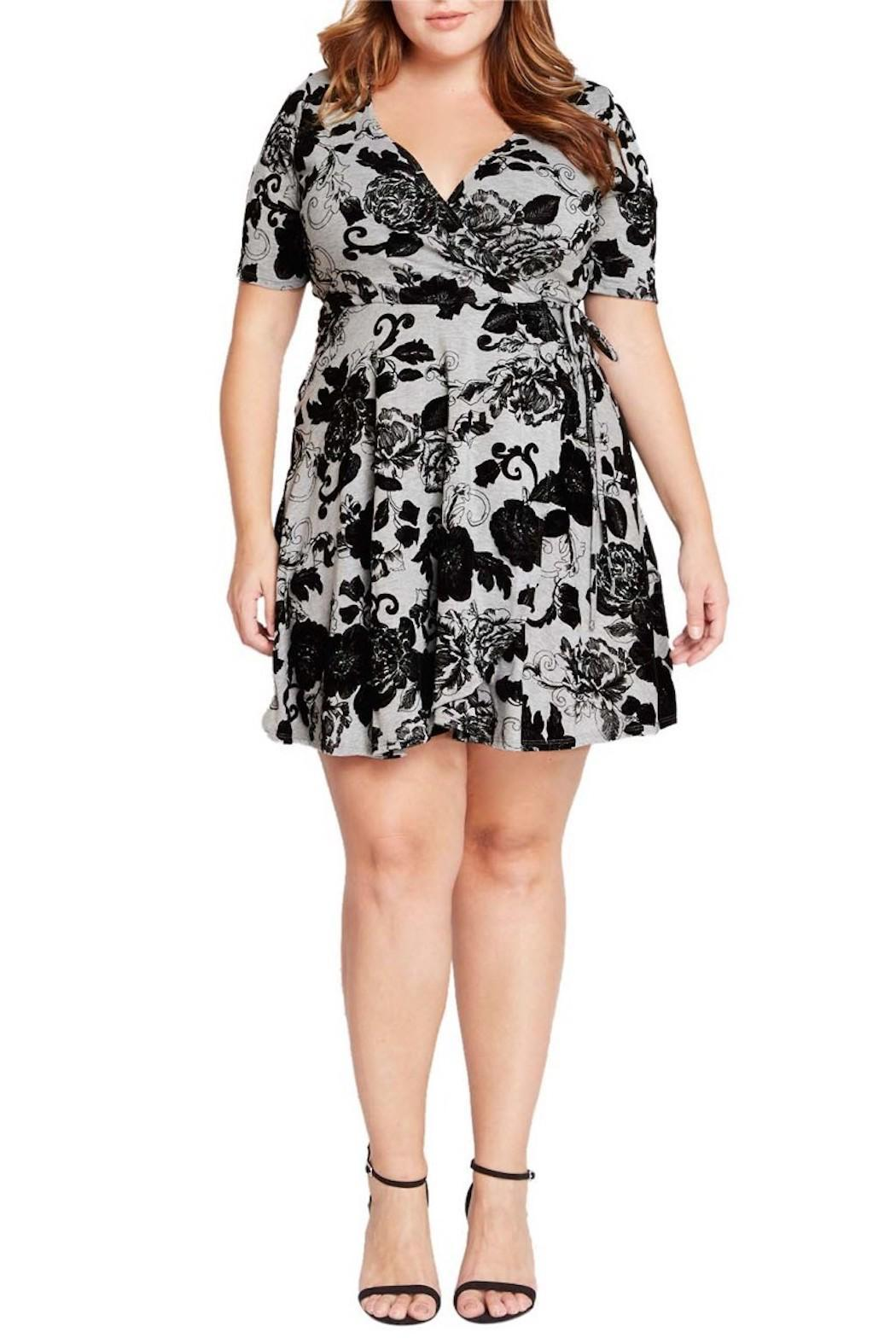 Mai Tai Floral Pattern Dress - Main Image