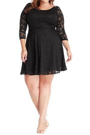 Mai Tai Black Lace Dress - Product Mini Image