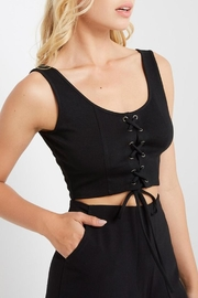 Mai Tai Lace-Up Crop Top - Side cropped
