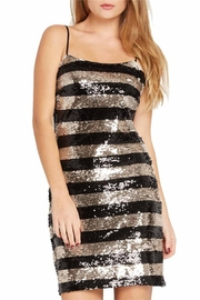 Mai Tai Metallic Sequin Dress - Front full body