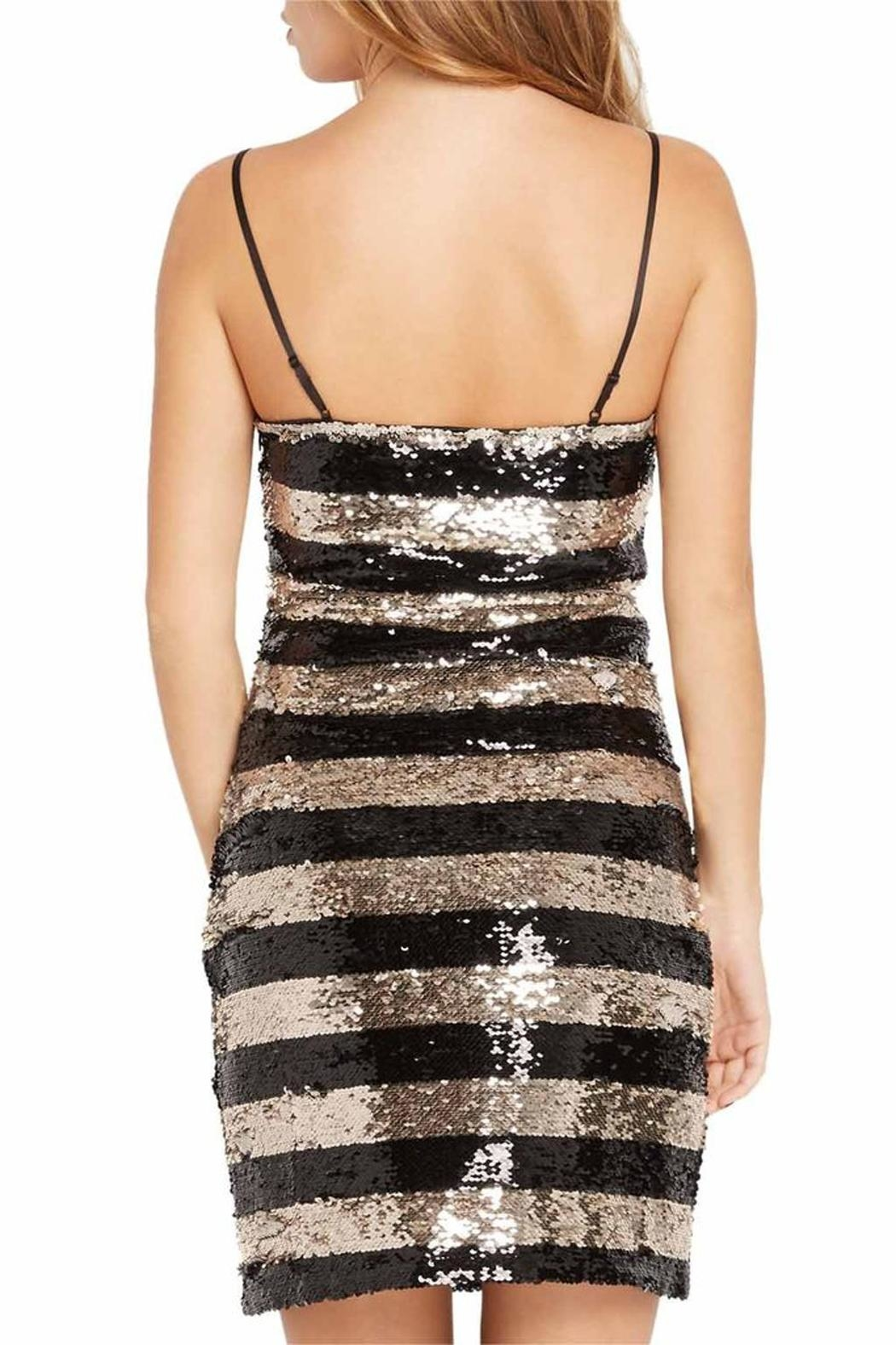 Mai Tai Metallic Sequin Dress - Back Cropped Image