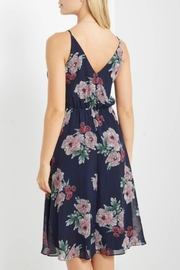 Mai Tai Navy Floral Dress - Side cropped
