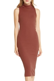 Mai Tai Rust Midi Dress - Front full body