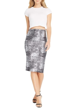 Shoptiques Product: Silver Metallic Bodycon