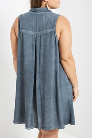 Mai Tai Stone Washed Shift Dress - Back cropped