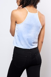 Mai Tai Velvet High Neck Top - Side cropped
