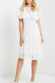 Mai Tai White Lace Dress - Product Mini Image