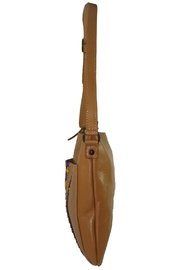 Mai Xik Leather Side Bag - Front full body