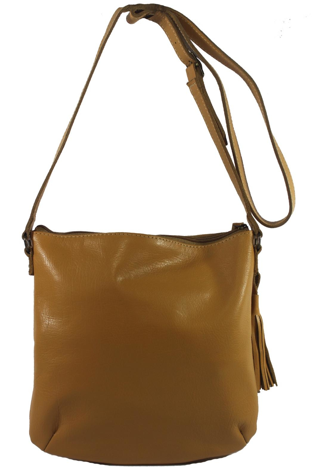 Mai Xik Leather Side Bag - Side Cropped Image