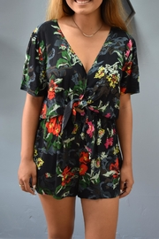 RD Style Maile Tie Romper - Product Mini Image